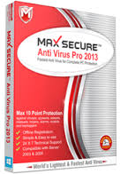 برنامج Max Secure Anti Virus Pro 2013 19.0